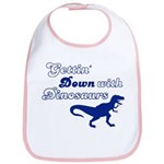 Gettin' Down With Dinosaurs Bib