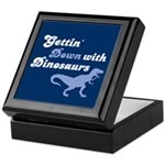 Gettin' Down With Dinosaurs Keepsake Box