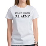 CPT - Proud of my soldier Women's T-Shirt