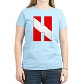Scuba Flag Letter H Women's Light T-Shirt