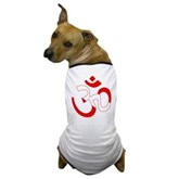 Scuba Flag Om / Aum Dog T-Shirt