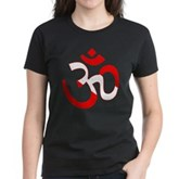 Scuba Flag Om / Aum Women's Dark T-Shirt
