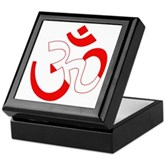 Scuba Flag Om / Aum Keepsake Box