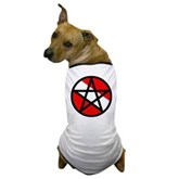 Scuba Flag Pentagram Dog T-Shirt