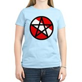 Scuba Flag Pentagram Women's Light T-Shirt