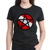 Scuba Flag Pentagram Women's Dark T-Shirt
