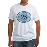 25 Logged Dives Fitted T-Shirt