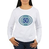 50 Logged Dives Women's Long Sleeve T-Shirt