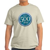 500 Dives Milestone Light T-Shirt