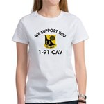 1-91 Cavalry Women's T-Shirt
