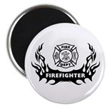 Fire Dept Tattoos Magnet