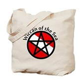 Wiccan of the Sea Tote Bag