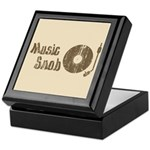Music Snob Keepsake Box
