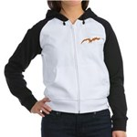 Bat Country Women's Raglan Hoodie