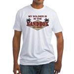 Soldier Sandbox US Army Miltary Fitted T-Shirt