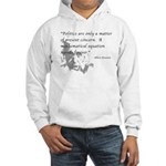 Hooded Sweatshirt : Sizes S,M,L,XL,2XL  Available colors: White,Ash Grey