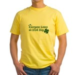 Everyone Loves an Irish Boy Yellow T-Shirt