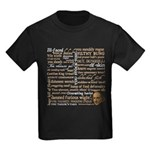 Shakespeare Insults T-shirts & Gifts Kids Dark T-Shirt