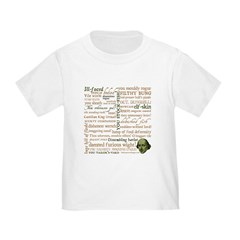 Shakespeare Insults T-shirts & Gifts Toddler T-Shirt
