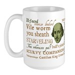 Shakespeare Insults T-shirts & Gifts Large Mug