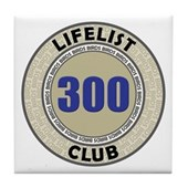 Lifelist Club - 300 Tile Coaster