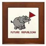 Future Republican Framed Tile
