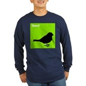  iBand (green) Long Sleeve Dark T-Shirt
