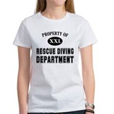 Rescue Diving Department Women's T-Shirt