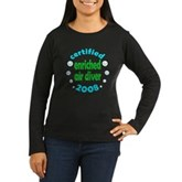 Enriched Air Diver 2008 Women's Long Sleeve Dark T