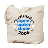 Open Water Diver 2008 Tote Bag