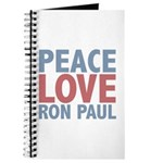 Peace Love Ron Paul Journal