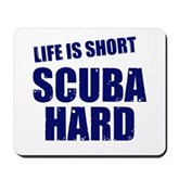 Scuba Hard Mousepad