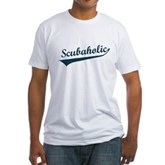 Scubaholic Fitted T-Shirt