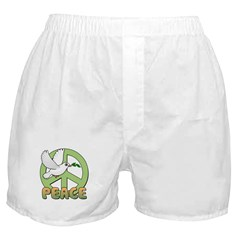 Birdorable Peace Dove Boxer Shorts