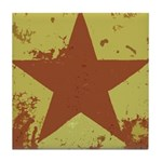 Rusty Star Tile Coaster