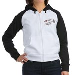 I Love Ska Women's Raglan Hoodie