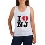 I Love NJ Women's Tank Top