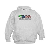 Obama 1up for America Kids Hoodie