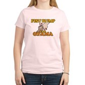Fist Bump for Obama Women's Light T-Shirt