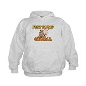 Fist Bump for Obama Kids Hoodie