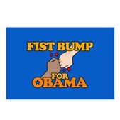 Fist Bump for Obama Postcards (Package of 8)