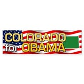 Colorado for Obama Bumper Sticker