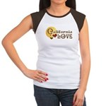 California Love Women's Cap Sleeve T-Shirt