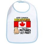 Canada Severed Foot Bib