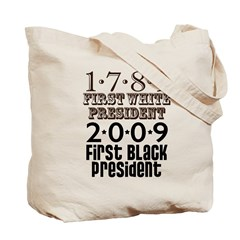 US Firsts: 1789-2009 Tote Bag