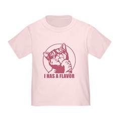 I Has A Flavor LOLcat Infant/Toddler T-Shirt