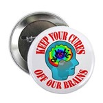 "Keep Your Cures 2.25"" Button (100 pack)"