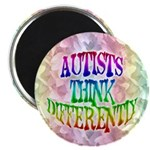 Autists Think Differently Magnet