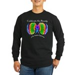 Celebrate Autistic Spectrum Long Sleeve Dark T-Shi
