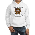 This is a Cat Hooded Sweatshirt